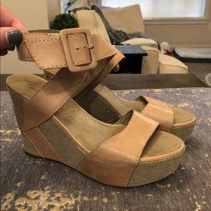 Franco Sarto Artist Collection Reba Wedge Sandals